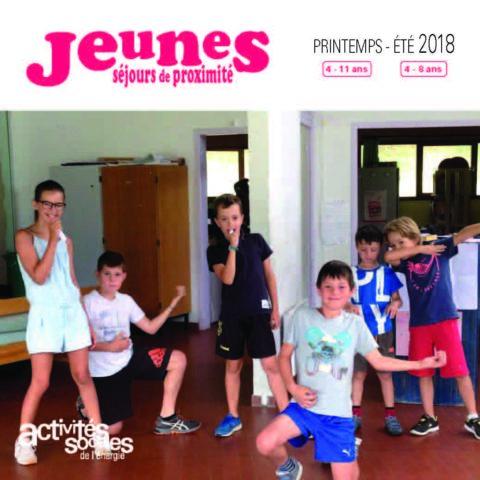 Séjour de proximité Jeunes Printemps-Été 2018