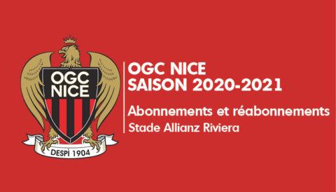 Abonnements OGC Nice 2020-21