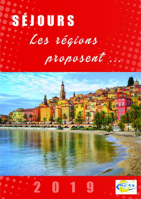 Les Régions proposent – 2019