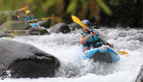Gorges Haute Roya en kayak-raft