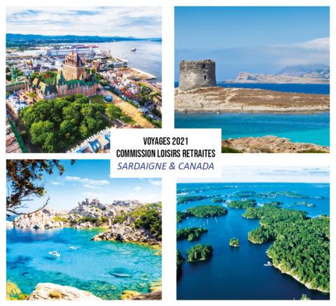 Voyages 2021 Commission Loisirs Retraités