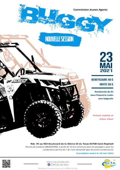 Buggy nouvelle session